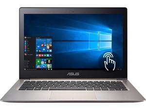 "ASUS Zenbook UX303UA-DH51T Ultrabook Intel Core i5 6200U (2.30 GHz) 8 GB Memory 256 GB SSD Intel HD Graphics 520 13.3"" IPS Full HD 1920 x 1080 Touchscreen 1.2 MP HD Camera Windows 10 Home 64-Bit"