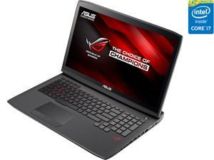 "ASUS ROG G751JL-WH71(WX) Gaming Laptop 4th Generation Intel Core i7 4720HQ (2.60 GHz) 16 GB Memory 1 TB HDD NVIDIA GeForce GTX 965M 2 GB GDDR5 17.3"" IPS Windows 10 Home 64-Bit"