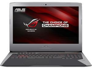 "ASUS ROG G752VT-DH74 Gaming Laptop Intel Core i7 6700HQ (2.60 GHz) 24 GB Memory 1 TB HDD 256 GB SSD NVIDIA GeForce GTX 970M 6 GB GDDR5 17.3"" Windows 10 Home 64-bit"