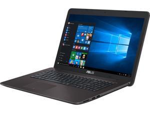 "ASUS X756UB-DS71 Gaming Laptop 6th Generation Intel Core i7 6500U (2.50 GHz) 8 GB Memory 1 TB HDD NVIDIA GeForce GT 940M 2 GB GDDR3 17.3""  Windows 10 Home 64-bit"