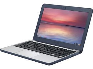 "ASUS C202SA-YS01 Chromebook Intel Celeron N3060 (1.60 GHz) 2 GB Memory 16 GB eMMC Intel HD Graphics 400 11.6"" 1366 x 768 Chrome OS"