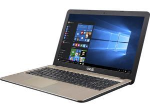 "ASUS Laptop D540SA-DS01 Intel Celeron N3050 (1.60 GHz) 4 GB Memory 500 GB HDD Intel HD Graphics 15.6""  Windows 10 Home 64-Bit"