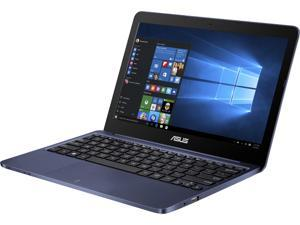 "ASUS Laptop EeeBook E200HA-US01-BL Intel Atom x5-Z8300 (1.44 GHz) 2 GB Memory 32 GB eMMC Intel HD Graphics 11.6"" Windows 10 Home 64-Bit"