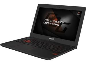 "ASUS ROG GL502VT-DS71 Gaming Laptop 6th Generation Intel Core i7 6700HQ (2.60 GHz) 16 GB Memory 1 TB HDD NVIDIA GeForce GTX 970M 3 GB GDDR5 15.6"" 160-degree viewing angle