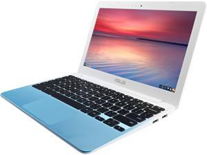 "ASUS C201PA-DS02-PW Chromebook Quad Core Processor 1.80 GHz 4 GB Memory 16 GB eMMC 11.6"" Chrome OS"