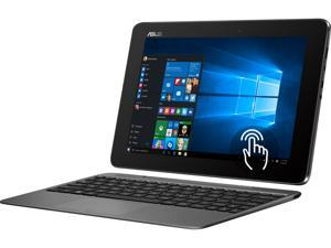 "ASUS Transformer Book T100 (T100HA-SH11T-CB) 2 in 1 Laptop Intel Atom x5-Z8500 (1.44 GHz) 32 GB eMMC SSD Intel HD Graphics Shared memory 10.1"" IPS Touchscreen Windows 10 Home 64-Bit"