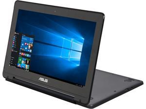 "ASUS Transformer Book Flip TP200SA-UHBF 2-in-1 Laptop Intel Celeron N3050 (1.60 GHz) 32 GB eMMC Intel HD Graphics Shared memory 11.6"" Windows 10 Home 64-Bit"