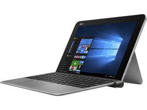 "ASUS Transformer Book T102HA-D4-GR Ultrabook Intel Atom x5-Z8350 (1.44 GHz) 128 GB eMMC Intel HD Graphics Shared memory 10.1"" Touchscreen Windows 10 Home 64-Bit"