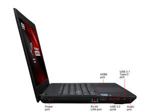 "ASUS ROG GL553VD-DS71 Laptop Intel Core i7-7700HQ (2.80 GHz) 16 GB Memory 1 TB HDD NVIDIA GeForce GTX 1050 4 GB GDDR5 15.6"" Windows 10 Home 64-Bit"