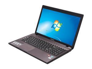 "Lenovo IdeaPad Z575 (129925U) AMD A-Series A6-3400M 1.4GHz 15.6"" Windows 7 Home Premium 64-bit Notebook"