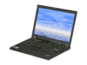 "Lenovo T400 Intel Core 2 Duo 2.26GHz 14.1"" Windows XP Professional Notebook"
