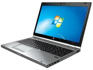 "HP EliteBook 15.6"" Windows 7 Professional Notebook"