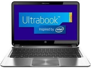"HP ENVY 4-1195CA Intel Core i5 8GB Memory 500GB HDD 32GB SSD 14"" Touchsmart Ultrabook (Bilingual) Windows 8"