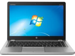 "HP EliteBook Folio 9470m (D6E52US#ABA) Intel Core i7 8GB Memory 256GB SSD 14"" Ultrabook Windows 7 Professional 64-bit"