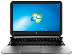 "HP ProBook 430 G1 (F2Q44UT#ABA) Intel Core i3-4010U 1.7GHz 13.3"" Windows 7 Professional 64-Bit Notebook"