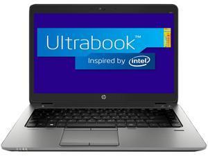 "HP EliteBook 840 G1 (E3W30UT#ABA) Intel Core i5 4300U (1.90GHz) 4GB Memory 180GB SSD 14"" Ultrabook Windows 7 Professional ..."