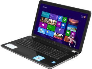 """HP Pavilion TouchSmart 17-e160us 17.3"""" Windows 8.1 Laptop"""