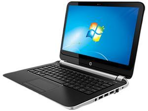 "HP 215 G1 F2R58UT#ABA Notebook AMD A-Series A4-1250 (1.00GHz) 4GB Memory 320GB HDD AMD Radeon HD 8210 11.6"" Windows 7 Professional ..."