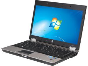 "HP EliteBook 8440p 14.1"" Silver Laptop - Intel Core i5 540M 1st Gen 2.53GHz 4GB SODIMM DDR3 SATA 2.5"" 160GB Windows 7 Professional 64-Bit"
