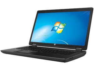 "HP ZBook 17 (J2M32UT#ABA) Intel Core I7-4700MQ 2.40 GHz 17.3"" Mobile Workstation Windows 7 Professional 64-Bit / Windows ..."