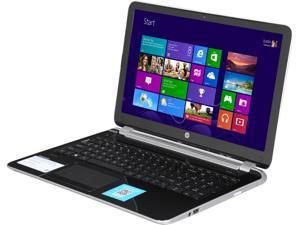 "HP Pavilion 15-N028US 15"" Notebook with Quad Core AMD A6 -5200 2.00GHz, 6GB Memory, 750GB HDD, SuperMulti DVD burner, Radeon HD 8400, Windows 8 64 Bit"