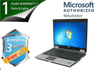 "HP Laptop EliteBook 2540p Intel Core i5 2.40 GHz 4 GB Memory 160 GB HDD Intel HD Graphics 12.0"" Windows 7 Professional 64-Bit"