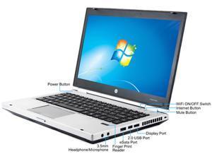 "HP C Grade Laptop 8460P Intel Core i5 2410M (2.30 GHz) 4 GB Memory 250 GB HDD 14.0"" Windows 7 Home Premium 64-Bit"
