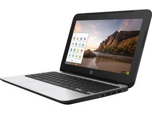 "HP 11 G4 (P0B79UT#ABA) Chromebook Intel Celeron N2840 (2.16 GHz) 2 GB Memory 16 GB eMMC SSD 11.6"" Chrome OS"