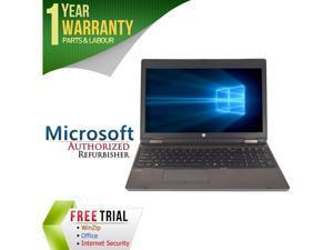 "HP Laptop 6560B Intel Core i5 2410M (2.30 GHz) 4 GB Memory 250 GB HDD Intel HD Graphics 15.6"" Windows 7 Professional 64-Bit"