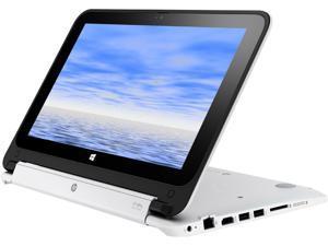 "HP Stream x360 11-p110ca (P4B14UA#ABL) 2-in-1 Bilingual Laptop Intel Celeron N2840 (2.16 GHz) 2 GB Memory 32 GB SSD Intel HD Graphics 11.6"" 1366 x 768 Touchscreen Windows 10 Home"