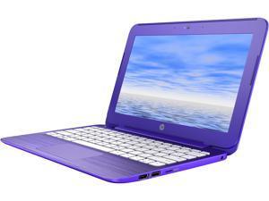 """HP Stream 11-r011ca (N5X89UA#ABL) Bilingual Laptop Intel Celeron N3050 (1.60 GHz) 2 GB DDR3L 32 GB eMMC Intel HD Graphics 11.6"""" 1366 x 768 HD Webcam Windows 10 Home 64-bit"""