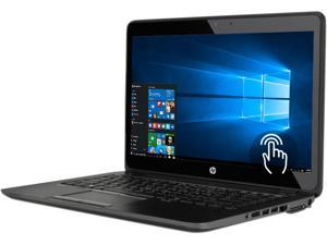 "HP ZBook 14 G2 (P3E29UT#ABA) Mobile Workstation Intel Core i7 5500U (2.40 GHz) 16 GB DDR3L Memory 1 TB HDD AMD FirePro M4150 14.0"" Touchscreen Windows 10 Pro 64-Bit English GPS NFC English Keyboard"