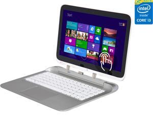 "HP Split x2 13-r010dx 2-in-1 Ultrabook Intel Core i3 4012Y (1.50 GHz) 500 GB + 8 GB SSHD Intel HD Graphics 4200 Shared memory 13.3"" Touchscreen Windows 8.1 64-Bit"