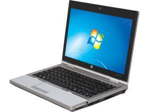 "HP Laptop EliteBook 2570P Intel Core i5 3rd Gen 3320M (2.60 GHz) 4 GB Memory 320 GB HDD 12.5"" Windows 7 Professional"