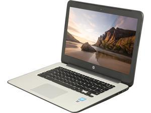 "HP 14 G4 (T4M32UT#ABA) Chromebook Intel Celeron N2840 (2.16 GHz) 4 GB Memory 16 GB eMMC SSD 14.0"" Chrome OS"