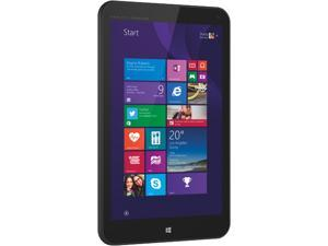"HP Stream 8 5801 (K5L40UA) Intel Atom 1 GB Memory 32 GB eMMC 8.0"" Touchscreen Tablet Windows 8.1 With Bing"