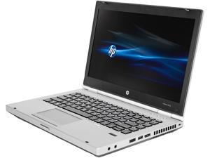 "HP C Grade Laptop EliteBook 8470P Intel Core i5 3rd Gen 3210M (2.50 GHz) 4 GB Memory 320 GB HDD 14.0"" Windows 7 Professional 64-Bit"