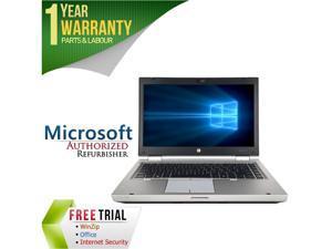 "HP Laptop EliteBook 8460P Intel Core i5 2520M (2.50 GHz) 8 GB Memory 240 GB HDD 240 GB SSD Intel HD Graphics 3000 14.0"" Windows 10 Pro"