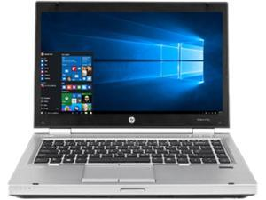 "HP Laptop EliteBook 8470P 3rd Gen Intel Core i5 2.60 GHz 4 GB Memory 250 GB HDD 14.0"" Windows 10 Pro"