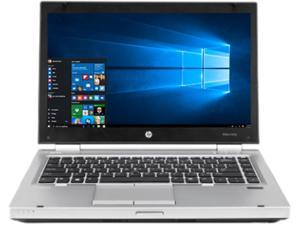 "HP Laptop EliteBook 8470P 3rd Gen Intel Core i5 2.60 GHz 4 GB Memory 500 GB HDD 14.0"" Windows 10 Pro"