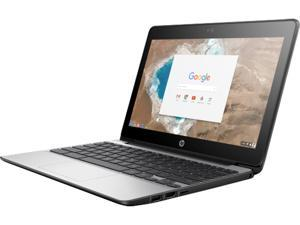 "HP Chromebook 11 G5 (X9U02UT#ABA) Intel Celeron N3050 (1.60 GHz) 4 GB Memory 16 GB Flash Storage Intel HD Graphics 11.6"" Chrome OS"