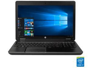 "HP ZBook 15 G2 Mobile Workstation Intel Core i7 4810MQ (2.80 GHz) 8 GB Memory 500 GB HDD NVIDIA Quadro K610M 15.6""  Windows 10 Pro 64-Bit"