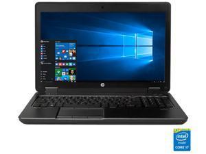 "HP ZBook 15 G2 Mobile Workstation Intel Core i7 4810MQ (2.80 GHz) 8 GB Memory 500 GB HDD NVIDIA Quadro K610M 15.6"" Windows 10 Pro 64-Bit"