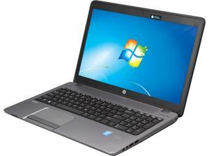 "HP Laptop ProBook 450 G1 (G4S55UT#ABA) Intel Core i5 4200M (2.50 GHz) 4 GB Memory 128 GB SSD Intel HD Graphics 4600 15.6"" Windows 7 Professional 64-Bit"