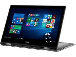 "DELL Laptop Inspiron 15-5578 (i5578-2550GRY) Intel Core i7 7500U (2.70 GHz) 8 GB Memory 1 TB HDD Intel HD Graphics 620 15.6"" Touchscreen Windows 10 Home 64-Bit"