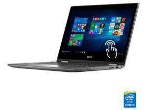 "DELL Inspiron i5368-0502GRY Laptop Intel Core i3 6100U (2.30 GHz) 500 GB HDD Intel HD Graphics 520 Shared memory 13.3"" Touchscreen Windows 10 Home 64-Bit"