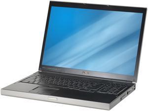 "DELL B Grade Laptop Precision M6500 Intel Core i5 2.40 GHz 4 GB Memory 320 GB HDD 17.0"" Windows 7 Professional 64-Bit"