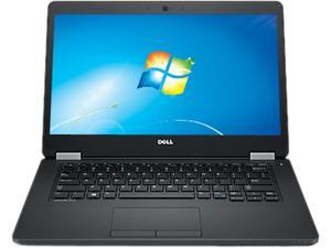 "DELL Laptop Latitude E5470 (0KR4W) Intel Core i5 6300U (2.40 GHz) 8 GB Memory 128 GB SSD Intel HD Graphics 520 14.0"" 1366 x 768 Windows 7 Professional"