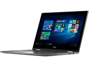 "DELL Inspiron 15 5000 i5568-3746GRY Intel Core i5 6th Gen 6200U (2.30 GHz) 8 GB Memory 1 TB HDD 15.6"" Touchscreen 1920 x 1080 2-in-1 Laptop Windows 10 Home 64-Bit"