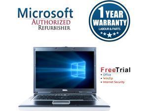 """DELL Laptop Precision M4300 Intel Core 2 Duo 1.80 GHz 2 GB Memory 160 GB HDD NVIDIA Quadro 15.4"""" Windows 7 Home Premium 64-Bit"""